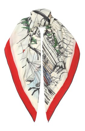 Кашемировый платок Snow Wonderland | Фото №1