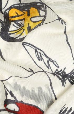 Кашемировый платок Snow Wonderland | Фото №2