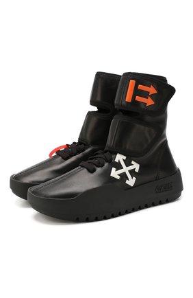 Кожаные кроссовки CST- 001 | Фото №1