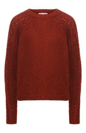 Женский шерстяной свитер FORTE_FORTE красного цвета, арт. 6838 | Фото 1