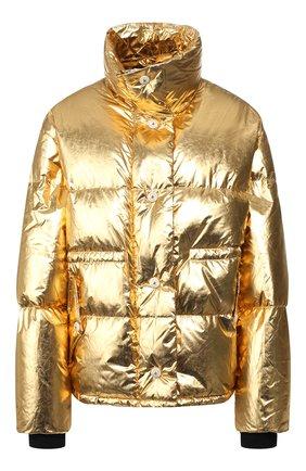 Женский пуховая куртка GOLDEN GOOSE DELUXE BRAND золотого цвета, арт. G35WP169.A2 | Фото 1