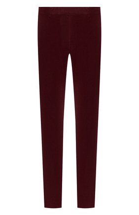 Мужской хлопковые брюки POLO RALPH LAUREN бордового цвета, арт. 710722642 | Фото 1