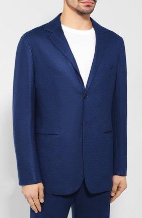 Мужской кашемировый костюм KNT синего цвета, арт. UAS0101K01S71 | Фото 2