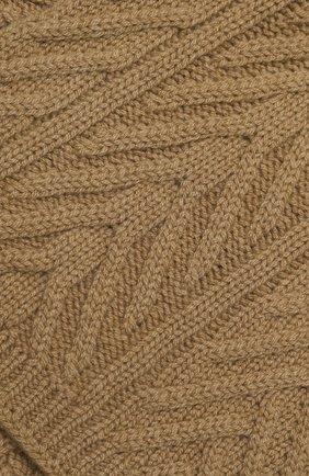 Мужской кашемировый шарф LORO PIANA бежевого цвета, арт. FAI8762 | Фото 2