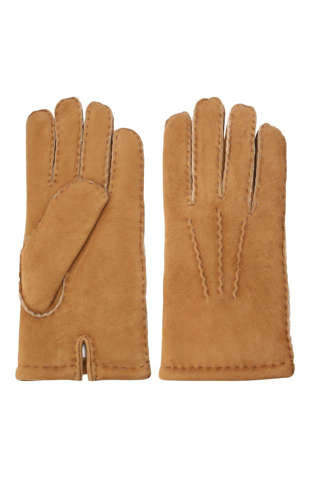 Замшевые перчатки   Фото №2