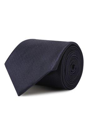 Мужской шелковый галстук CORNELIANI темно-синего цвета, арт. 84U302-9820312/00 | Фото 1
