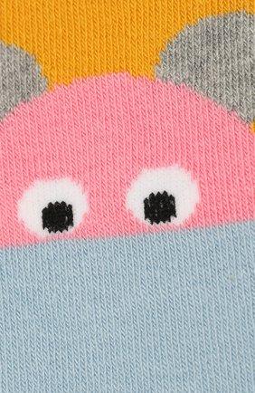 Детские хлопковые колготки STELLA MCCARTNEY разноцветного цвета, арт. 566293/SNM03 | Фото 2