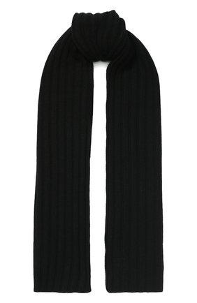 Детский шарф PAOLO PECORA MILANO черного цвета, арт. PP2074 | Фото 1