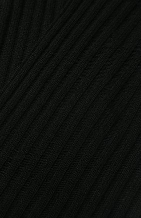 Детский шарф PAOLO PECORA MILANO черного цвета, арт. PP2074 | Фото 2