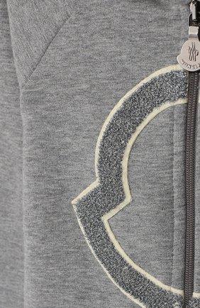 Детский комплект из толстовки и брюк MONCLER серого цвета, арт. E2-951-88607-50-80996   Фото 6