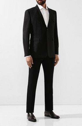 Мужские кожаные оксфорды BERLUTI черного цвета, арт. S3412-001 | Фото 2