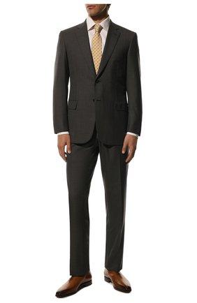 Мужские кожаные оксфорды BERLUTI коричневого цвета, арт. S3412-002 | Фото 2
