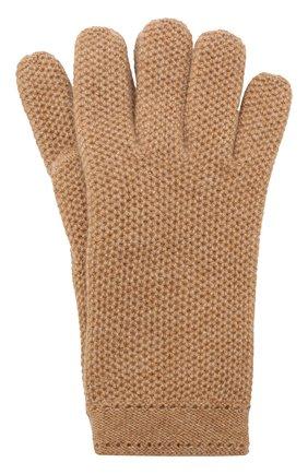 Женские кашемировые перчатки LORO PIANA бежевого цвета, арт. FAA1252 | Фото 1