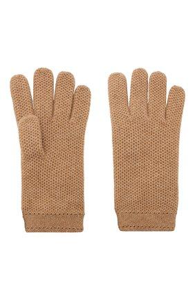 Женские кашемировые перчатки LORO PIANA бежевого цвета, арт. FAA1252 | Фото 2