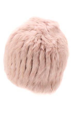 Женский шапка из меха кролика YVES SALOMON розового цвета, арт. 20WY4854XXKLLUN | Фото 2