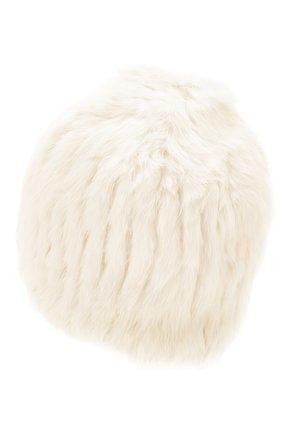 Женский шапка из меха кролика YVES SALOMON белого цвета, арт. 20WY4854XXKLLUN | Фото 2