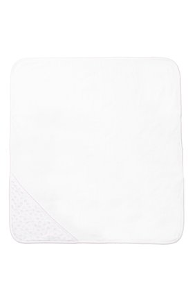 Детского комплект из полотенца и рукавицы KISSY KISSY белого цвета, арт. 48609   Фото 3 (Статус проверки: Проверена категория)