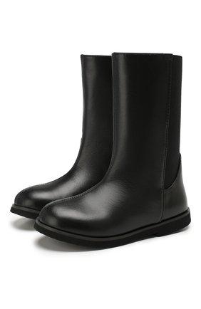 Детские кожаные сапоги AGE OF INNOCENCE черного цвета, арт. 000119/SARAH/27-35 | Фото 1