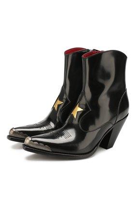 Женские кожаные ботильоны nora GOLDEN GOOSE DELUXE BRAND черного цвета, арт. G35WS728.A1 | Фото 1