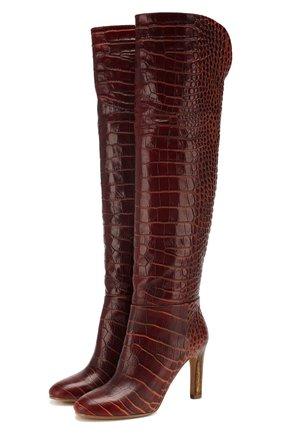Женские кожаные сапоги GABRIELA HEARST светло-коричневого цвета, арт. 1198133 SEL001 | Фото 1