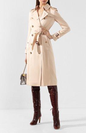 Женские кожаные сапоги GABRIELA HEARST светло-коричневого цвета, арт. 1198133 SEL001 | Фото 2