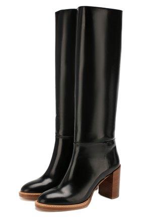 Женские кожаные сапоги GABRIELA HEARST черного цвета, арт. 1198134 SZ001 | Фото 1