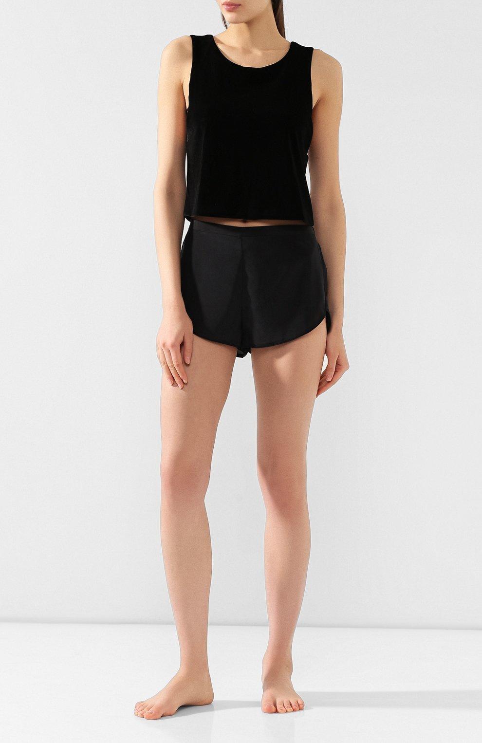 Женские шорты CHANTAL THOMASS черного цвета, арт. TA17_чер | Фото 2