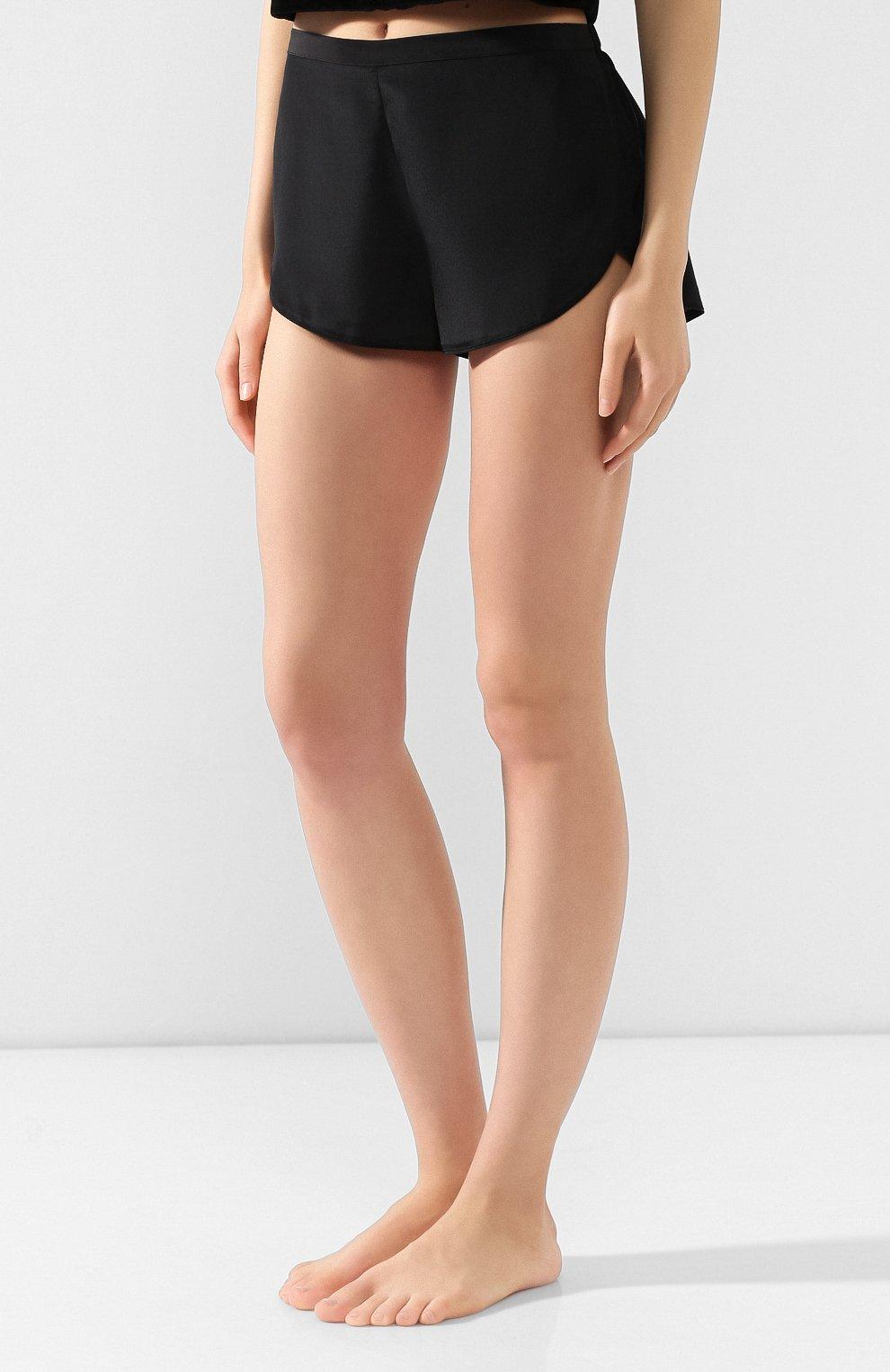 Женские шорты CHANTAL THOMASS черного цвета, арт. TA17_чер | Фото 3