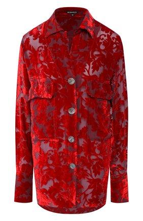 Блузка из смеси вискозы и шелка   Фото №1