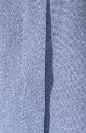 Рубашка из смеси шелка и хлопка   Фото №5