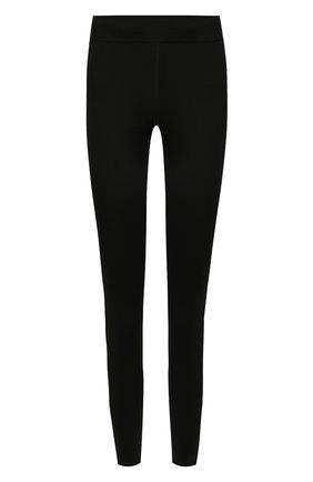 Женские леггинсы GOLDEN GOOSE DELUXE BRAND черного цвета, арт. G35WP085.A1 | Фото 1