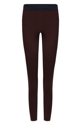 Женские леггинсы GOLDEN GOOSE DELUXE BRAND бордового цвета, арт. G35WP085.A3 | Фото 1