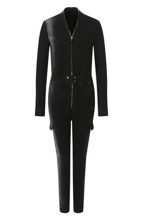 Женский комбинезон RICK OWENS черного цвета, арт. R019F5582/SD | Фото 1