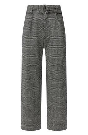Женские брюки из смеси шерсти и кашемира PROENZA SCHOULER серого цвета, арт. R1946008-AW080S | Фото 1