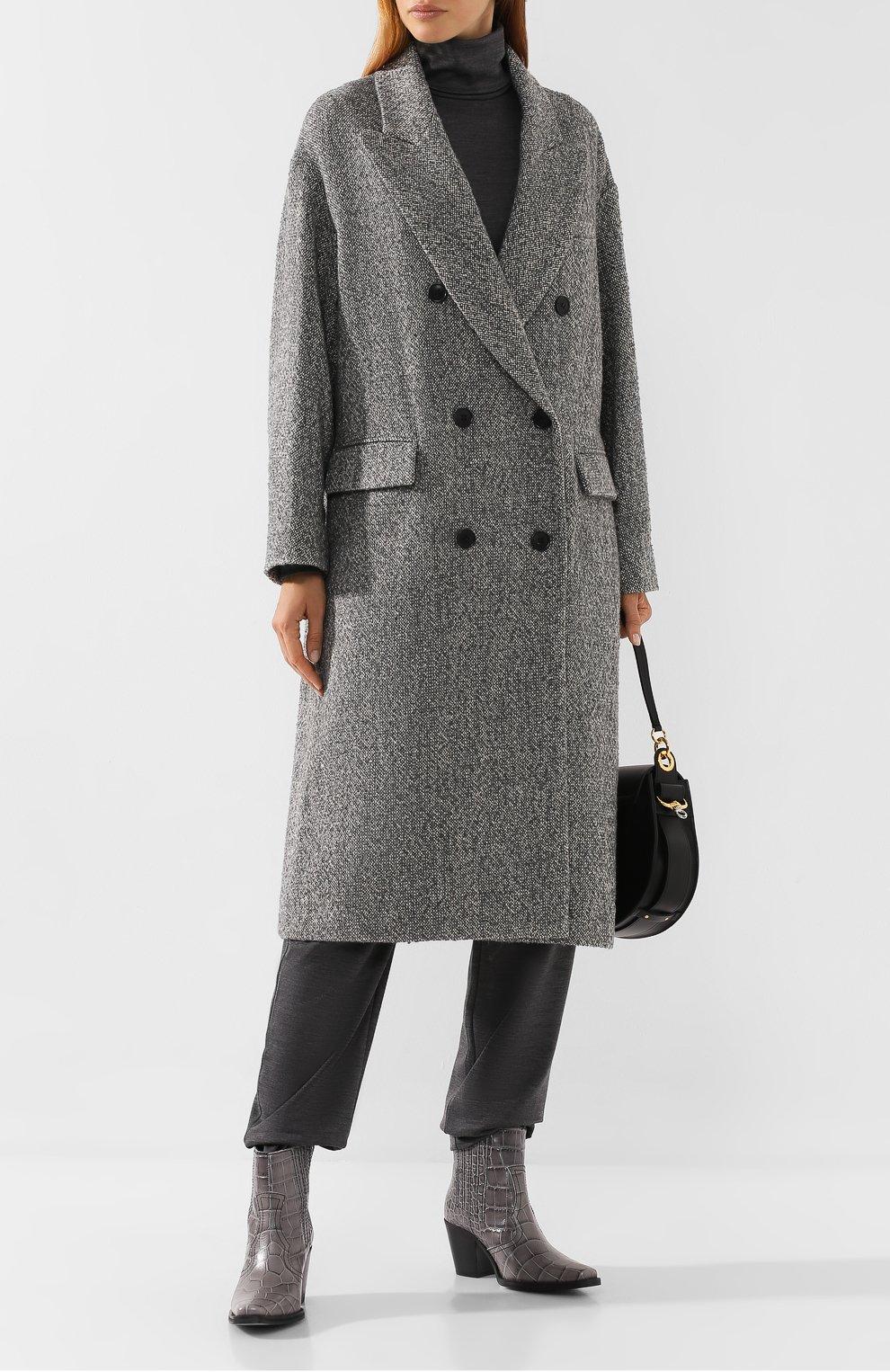 Двубортное пальто   Фото №2