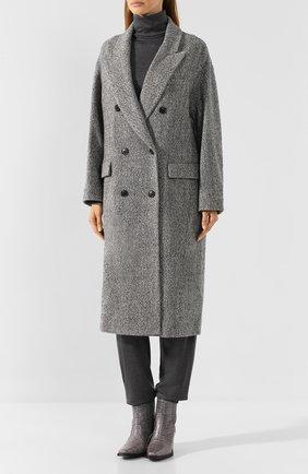 Двубортное пальто   Фото №3