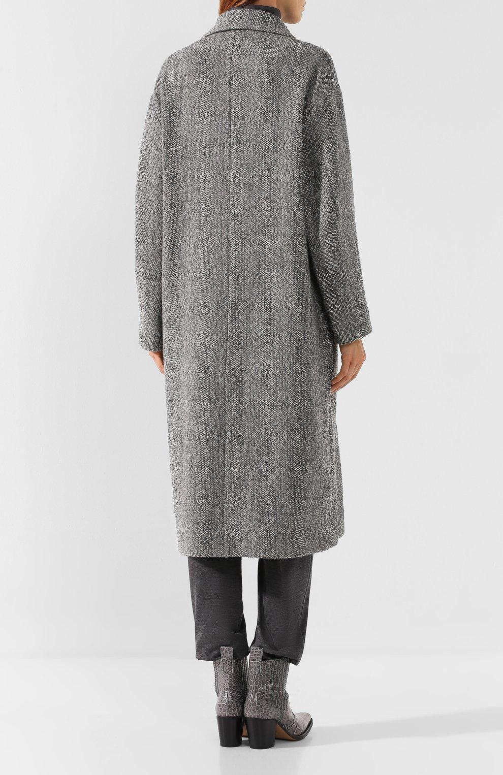 Двубортное пальто   Фото №4