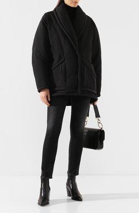Женская утепленная куртка ISABEL MARANT черного цвета, арт. MA0641-19H004I/B0REAL | Фото 2