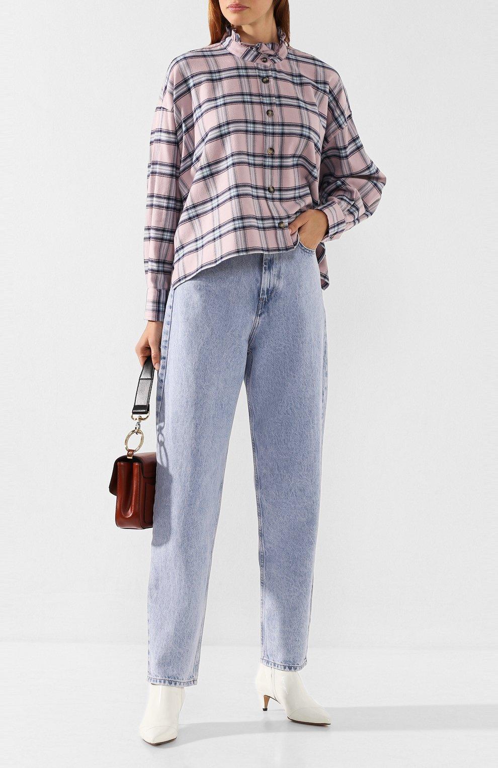 Женские джинсы ISABEL MARANT ETOILE голубого цвета, арт. PA1360-19A022E/C0RSYJ | Фото 2