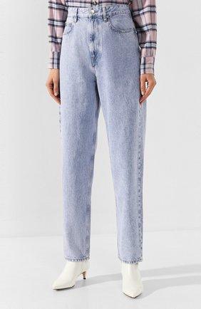 Женские джинсы ISABEL MARANT ETOILE голубого цвета, арт. PA1360-19A022E/C0RSYJ | Фото 3