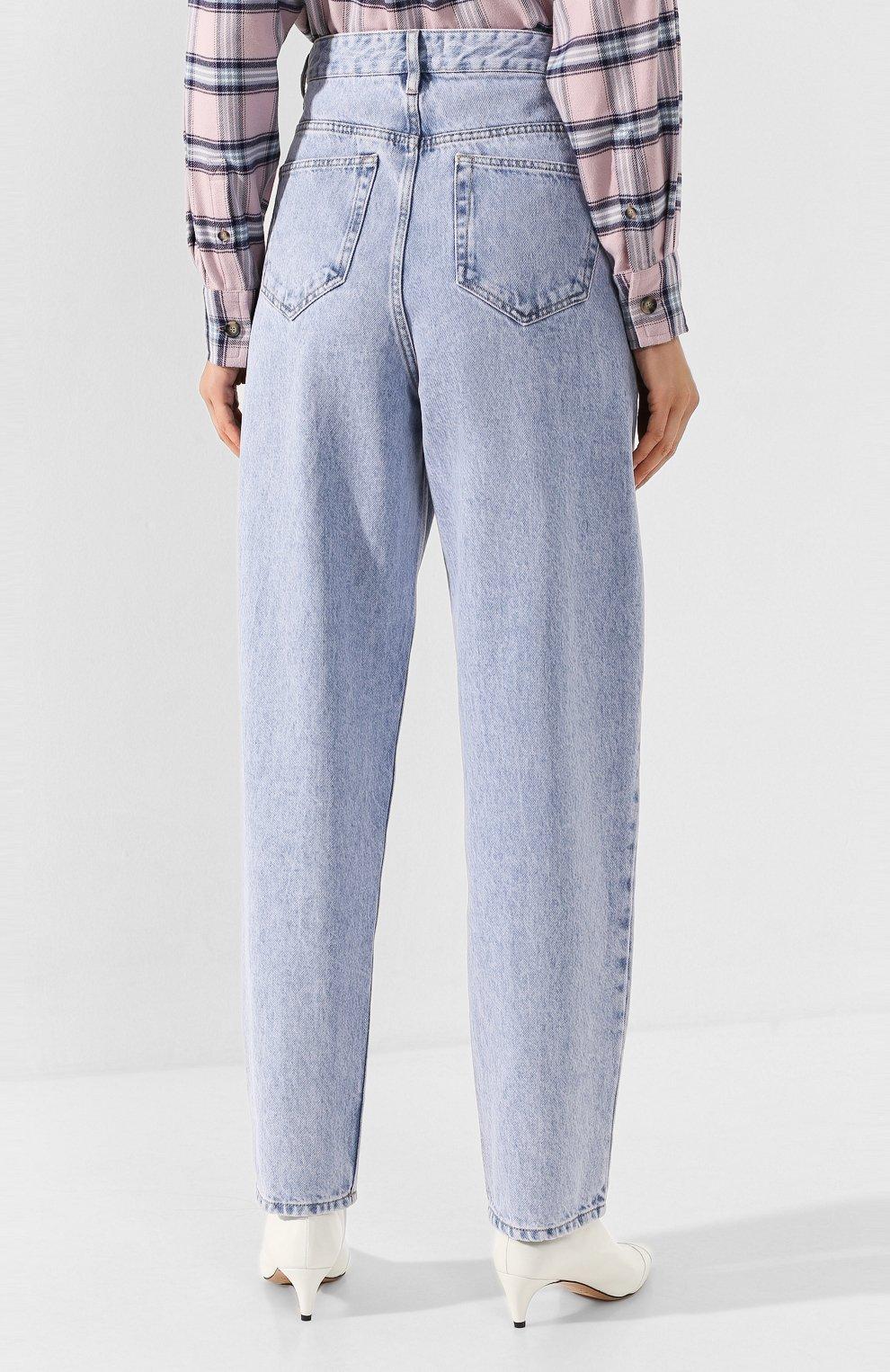 Женские джинсы ISABEL MARANT ETOILE голубого цвета, арт. PA1360-19A022E/C0RSYJ | Фото 4