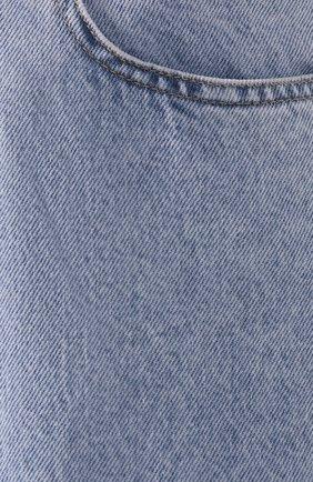 Женские джинсы ISABEL MARANT ETOILE голубого цвета, арт. PA1360-19A022E/C0RSYJ | Фото 5