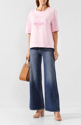 Женские джинсы GRLFRND синего цвета, арт. GF42858771132 | Фото 2