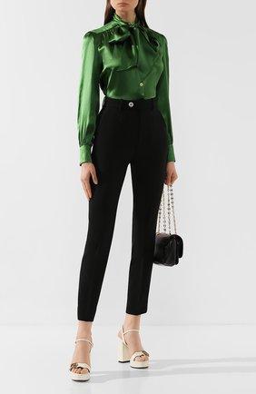 Блузка из смеси шелка и вискозы | Фото №2