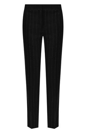 Женские брюки в полоску WEILL черного цвета, арт. 113010 | Фото 1 (Статус проверки: Проверена категория, Проверено; Материал внешний: Полиэстер, Синтетический материал; Женское Кросс-КТ: Брюки-одежда; Случай: Формальный; Силуэт Ж (брюки и джинсы): Прямые; Длина (брюки, джинсы): Стандартные)