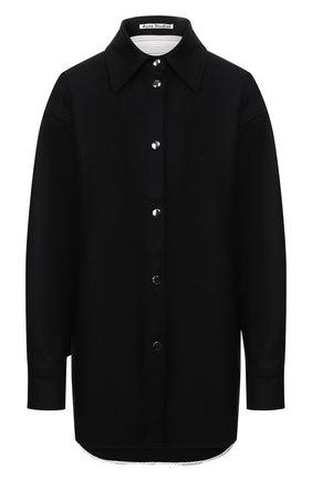 Рубашка из смеси шерсти и кашемира | Фото №1