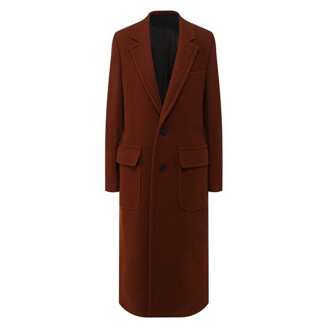 Шерстяное пальто Ami