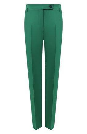 Женские брюки со стрелками GOLDEN GOOSE DELUXE BRAND зеленого цвета, арт. G35WP021.A4 | Фото 1
