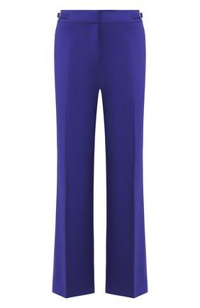 Женские шерстяные брюки GABRIELA HEARST фиолетового цвета, арт. 119208 W005 | Фото 1