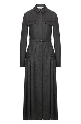 Женское кашемировое платье GABRIELA HEARST темно-серого цвета, арт. 119423 C005 | Фото 1